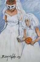 The Bride and The Flower Girl