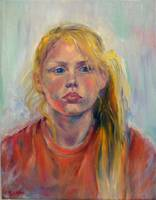 Young Girl by Sara Fraser