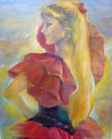 Flamenco Dancer by Sara Fraser