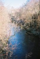 Willimantic: a view from the foot bridge by Sara Fraser