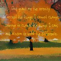 Serenity Prayer Tree