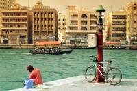 Fishing Dubai Creek