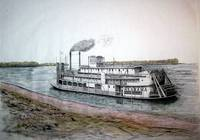 Riverboat ALABAMA in colour