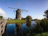 Autumn in Kinderdijk