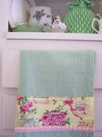 Shabby Rose Tea towel