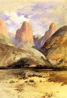 Colburns Butte by Thomas Moran