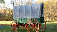 Colorful Covered Wagon