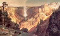Grand Canyon of the Yellowstone (1872) by Moran