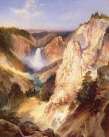 Great Falls of Yellowstone (1895) by Thomas Moran
