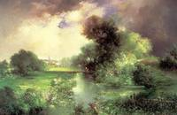 June, East Hampton (1895) by Thomas Moran