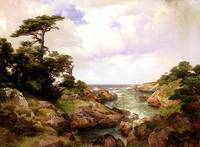 Monterey Coast (1912) by Thomas Moran
