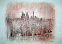 View of the Cathedral by Sara Fraser