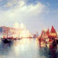 """""""The Grand Canal (1889) by Thomas Moran"""" by ArtLoversOnline"""