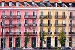 Pink and Yellow Apartment Graphic- Bilbao, Spain
