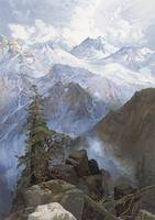 The Summit of The Sierras by Thomas Moran