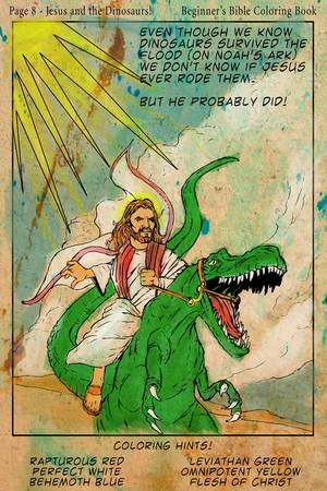 Beginner's Bible Coloring Book!