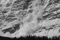 Avalanche on Mt. Invincible