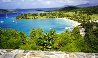 View from St John, USVI