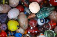 Indian market Colored beads