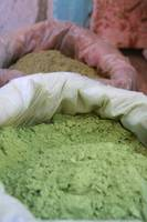 Indian Colored Green powder