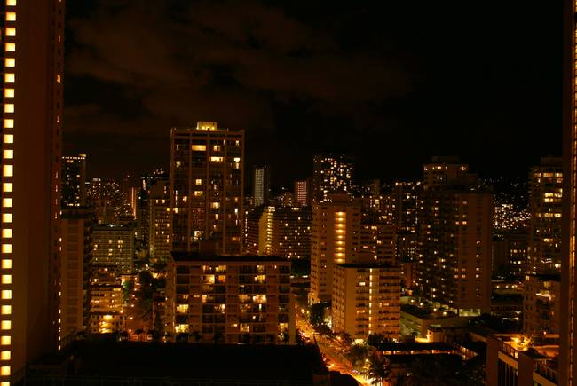Honolulu Night Lights-1769