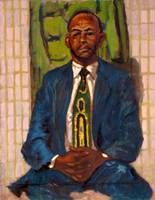 Seated Man with Tie
