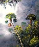 Country Palm Trees by Mazz Original Paintings