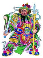 Chinese God Warrior