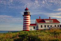 West Quoddy Head Lighthouse, Lubec, Maine