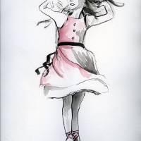 The Dancer Art Prints & Posters by Amy Hofacker