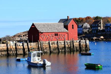 Rockport Motif Number 1 by Lou Ford