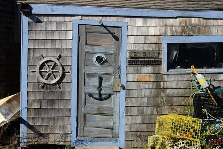 Rockport Fishing Shack by Lou Ford