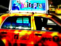 HAIR SPRAY NYC CABS