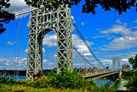 The Spanning George Washington Bridge