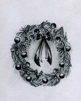 Graphite Wreath