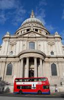 St Paul's with double decker