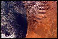 the African Coast from the Space Shuttle by WorldWide Archive