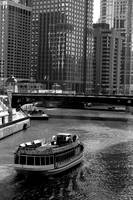 Ferry on Chicago River