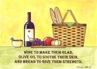 Wine, Oil & Bread