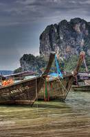 Railay Beach: Longtails