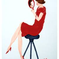 Mirror Image Girl by Barbara Wilford Gentry