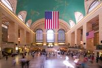 Interior of Grand Central Station, NYC