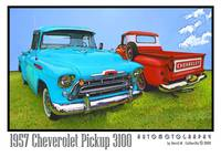 1957 Chevrolet Pickup Trucks