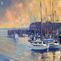 """Monterey Marina in Early Morning"" by RobertLewis"