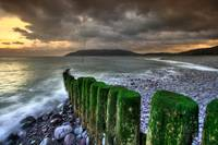 Porlock Beach at Dusk