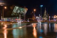 Cardiff Bay Fountains 2