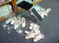 Lauren Turley Nutcraker 09 Pointe Shoe Fitting