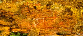 Nourlangie Rock Art At Kakadu -NT