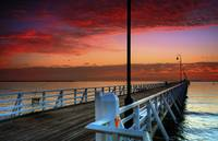 Shorncliffe Pier, Brisbane.