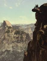 Half Dome and Glacier Point 1898 by WorldWide Archive